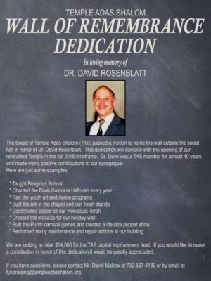 Dr. Dave Dedication
