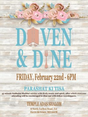 Winter themed Daven & Dine