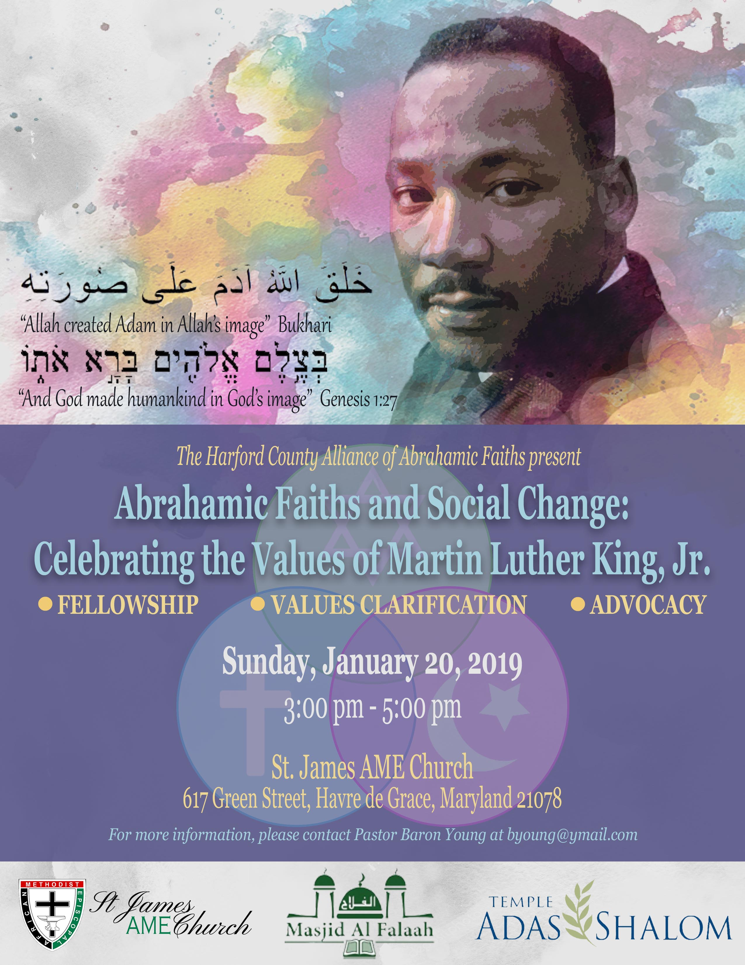 Martin Luther King Event - 1/20