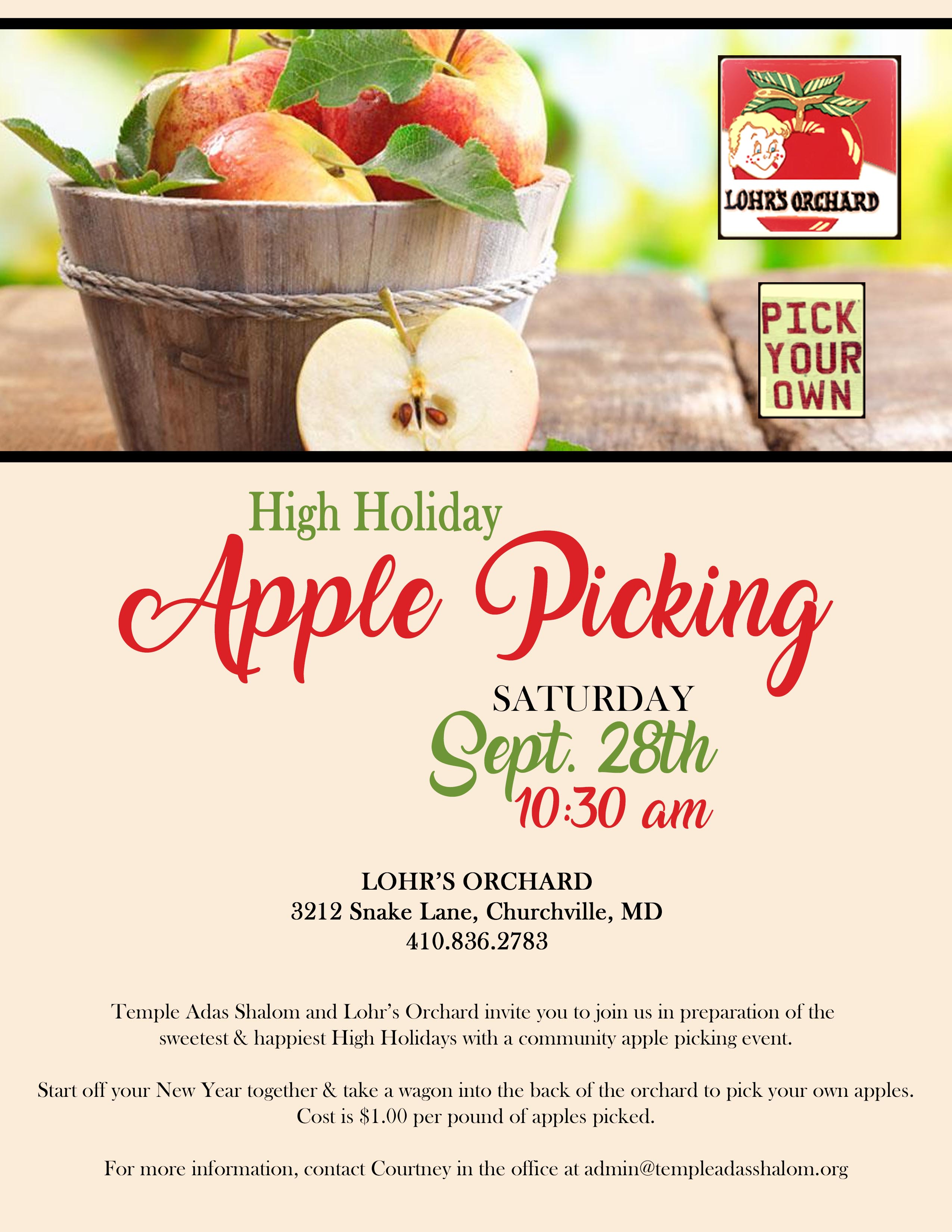 Community Apple Picking Event